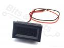 Digitale voltmeter met display groen 3,2-30,0V mini