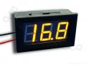 Digitale voltmeter met display geel 3,2-30,0V