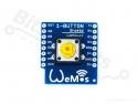 WeMos D1 mini drukknop shield