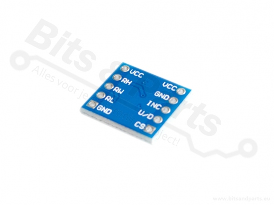 IC X9C104 Digitale weerstand/potmeter 100KOhm
