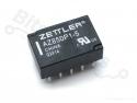 Relais bi-stabiel subminiatuur / Latching 1 spoel 5V Zettler AZ850P1-5