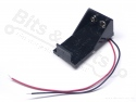 Batterijbox/Batterijhouder voor 9V blok batterij (6LR61/6LF22)