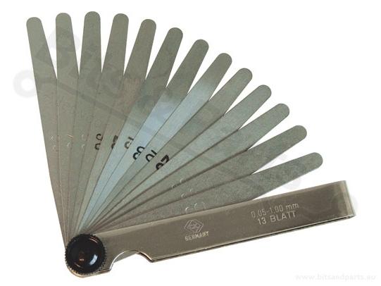 Voelermaat Carl Kammerling 0,05mm-10,0mm