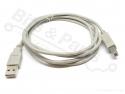 USB Aansluitkabel 1,8 meter (oa. voor Arduino's en printers)