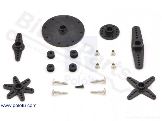 Servo motor 360 graden/continuous rotation SpringRC SM-S4303R Pololu 1248