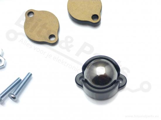 Ball caster wheel / kogelwieltje metaal 0,5inch/1,27cm - Pololu 953