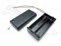 Batterijbox/Batterijhouder AA Penlite x 2 (3V) met deksel