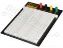 Breadboard op bodemplaat met aansluitklemmen 2390 pins