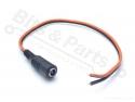 Voedings-stekker Jack Plug Female Dc 2,1x5,5mm met kabeltje