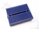 Breadboard 170 pins blauw - universeel experimenteer board