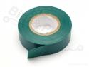 Isolatietape PVC 10mx15mm groen