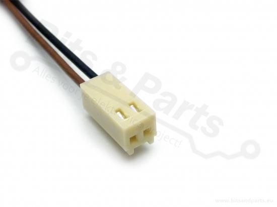 Signaalconnector 2-polig met draad