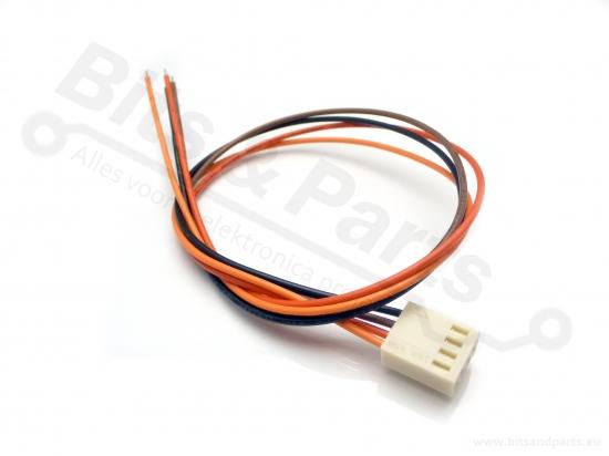 Signaalconnector 4-polig met draad