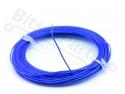 Draad 1x0,2mm2 vaste kern 10 meter blauw
