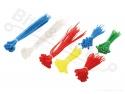 Tie-wrap / tiewrap / tyrap set 300 stuks