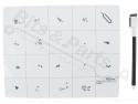 Werkmat magnetisch 20x25cm
