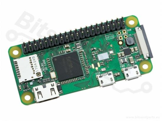 Raspberry Pi Zero WH - 1 GHz - 512MB - WiFi - BT