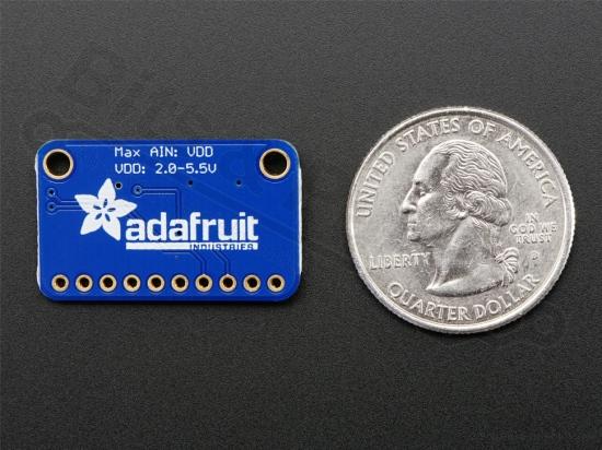 ADC ADS1115 16-Bit breakout - 4 kanaals met programmeerbare versterker