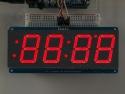 Cijferdisplay 4-Digit 7-Segments Rood 3,05cm + I2C backpack - Adafruit