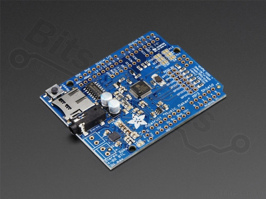 Audio MP3 'Music Maker' music shield with 3 Watt amplifier - Adafruit 1788