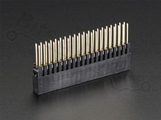 Headerpins stackable extra hoog voor Raspberry Pi A+/B+/Pi 2 - 2x20pins