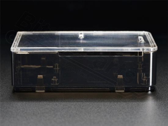 Behuizing / Case Raspberry Pi B+/2/3 acryl helder smoke - Adafruit 2258