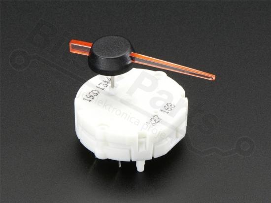 Stappenmotor x27.168 automotive met wijzer - Adafruit 2424