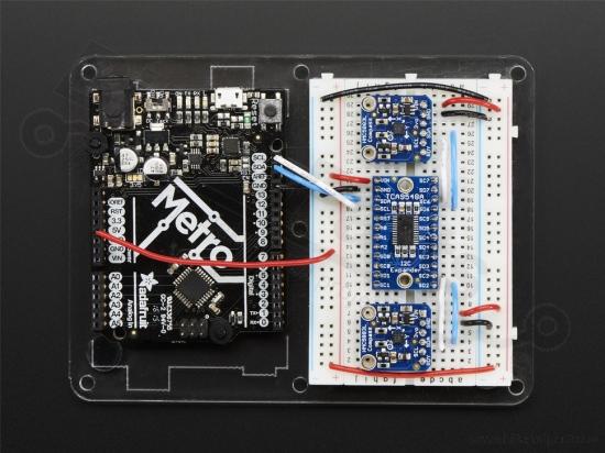 TCA9548A I2C Multiplexer breakout - Adafruit 2717