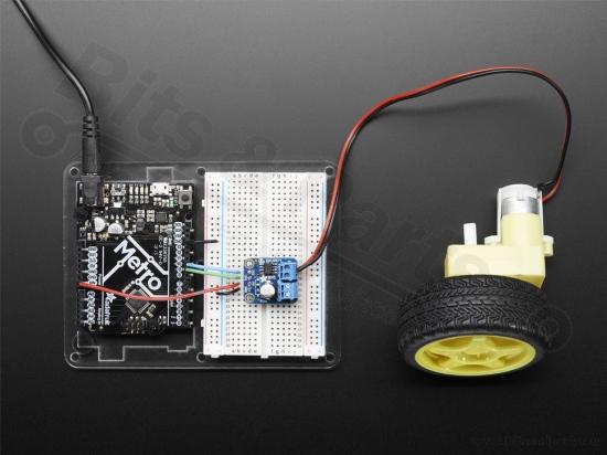 Motor driver module DRV8871 Breakout Board 3,6A Max - Adafruit 3190