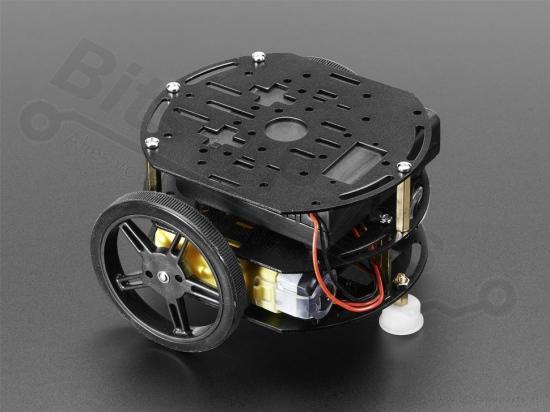 Smart Car Chassis 2WD met 2 motors / 3 lagen - Adafruit 3244