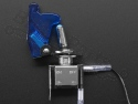 Schakelaar tuimelschakelaar met safety kap blauw - Adafruit 3306