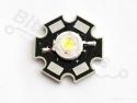 Ultra-bright Cool white LED 1W op heatsink - Adafruit 518