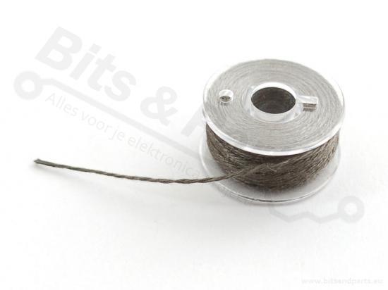 Stroomgeleidend garen 0,4mm x 11,5m - Adafruit 603