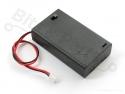 Batterijbox/Batterijhouder AAA Penlite x 3  met schakelaar, JST conn.- Adaf