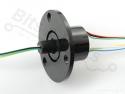 Sleepring / Slip ring 6 draads/ 22mm 240V/2A SRC022A-6 - Adafruit 736