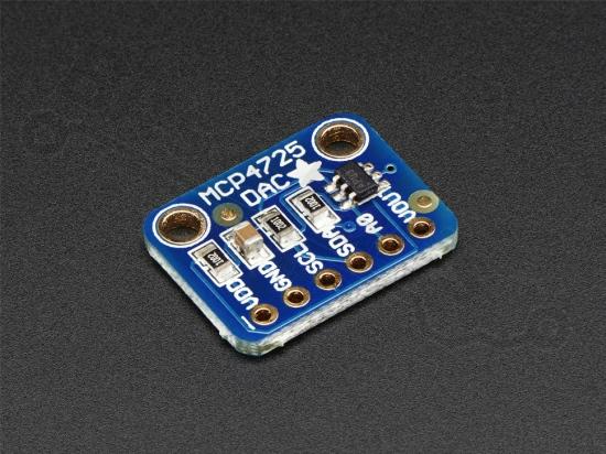 DAC MCP4725 Breakout Board 12bit I2C - Adafruit 925