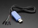 Converter USB naar Serieel Raspberry Pi console PL2303HX - Adafruit 9954