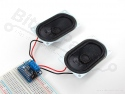Audioversterker 3,7W stereo Class D - MAX98306 - Adafruit 987