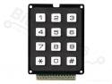 Toetsenbord / keyboard 12 toetsen - gemeenschappelijke uitgang