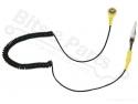 Antistatische kabel en druksluiting voor antistatische tafel