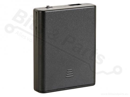 Batterijbox/Batterijhouder AA Penlite x 4  (6V) met schakelaar/USB connecto