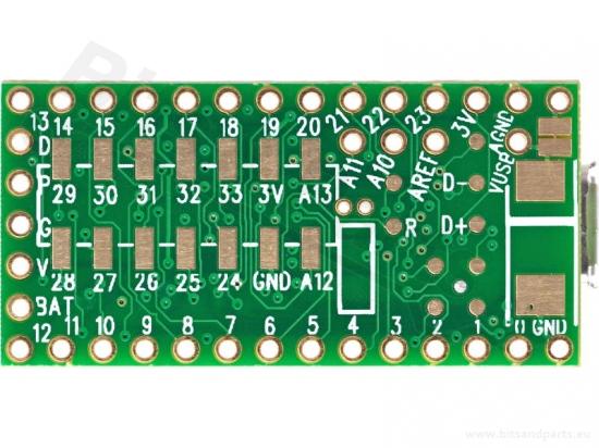 Teensy 3.1 microcontroller board