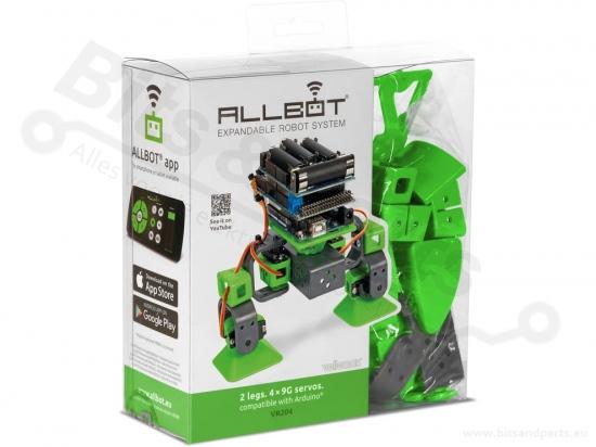 Velleman ALLBOT® robot met 2 poten