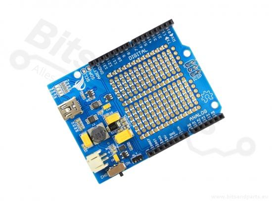 Oplader / batterijshield 'LiPower'' voor Arduino