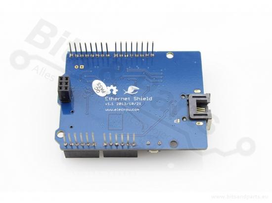 Ethernet/LAN netwerk shield W5200 SD-card reader voor Arduino