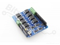 Motor shield IRF3205S/IR2104 Dual H-bridge max. 8A/22V
