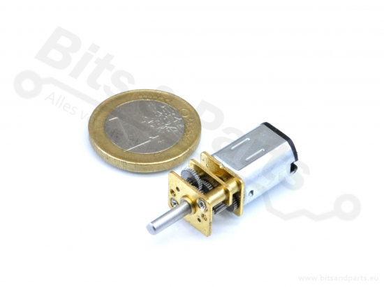 Motor DC Micro met gears 6V 60RPM Type N20