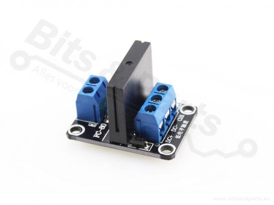 Relais board 1-kanaals 5V - Solid state relais