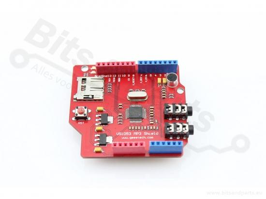MP3 audioshield VS1053 voor Arduino