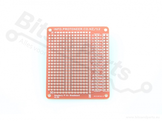 Prototyping board Raspberry Pi B+